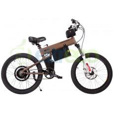 Электровелосипед Eltreco Montague 2500W бежевый