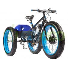 Трицикл Eltreco Fat Bike 500W с корзиной