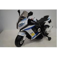 Rivertoys Электромотоцикл M111MM-BLACK-BLUE черно-синий