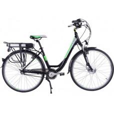 Велогибрид Totem Black Aqua E-City