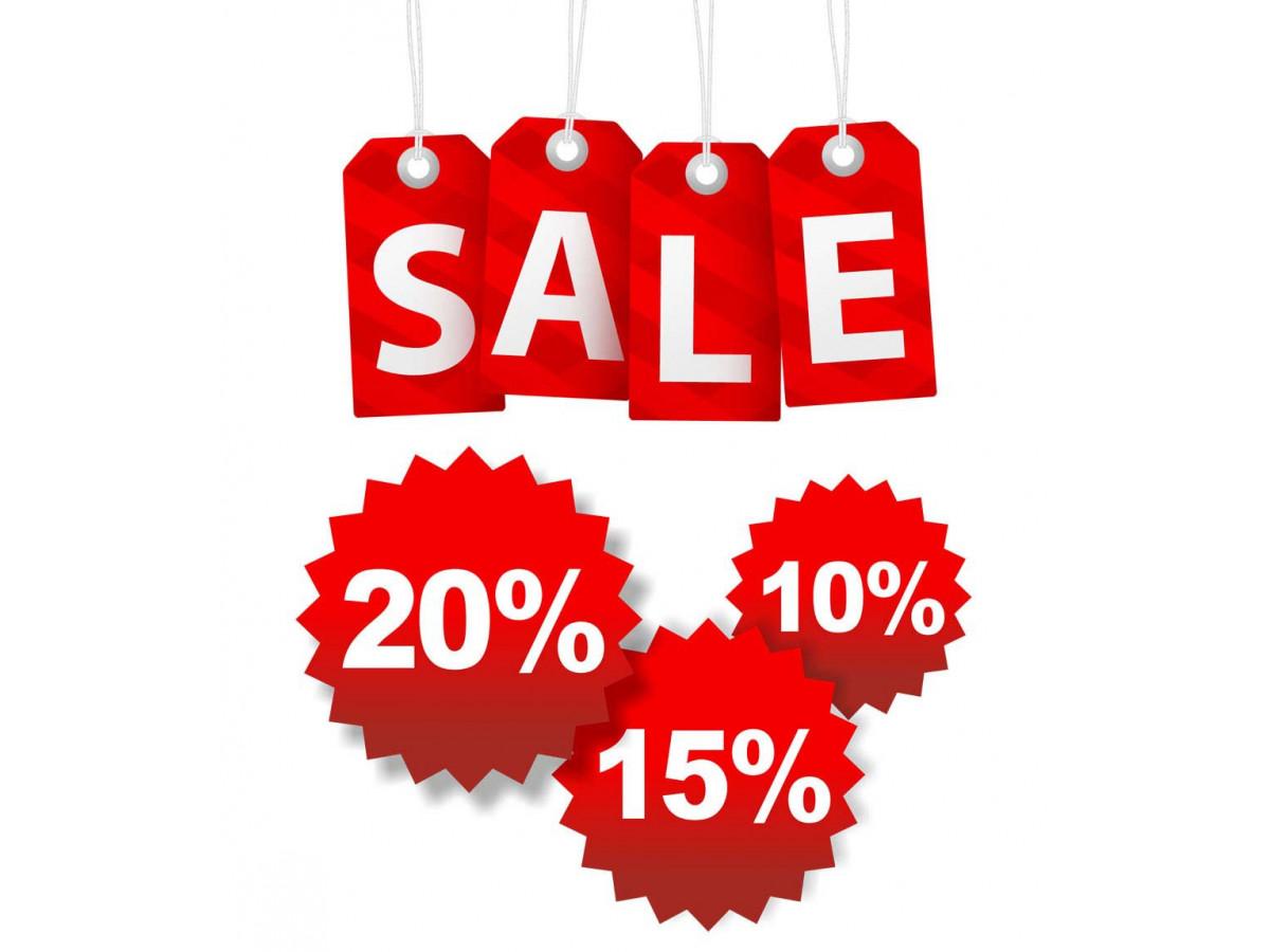 Внимание!!! Стартовали скидки  до 30% на два популярных бренда !!!!